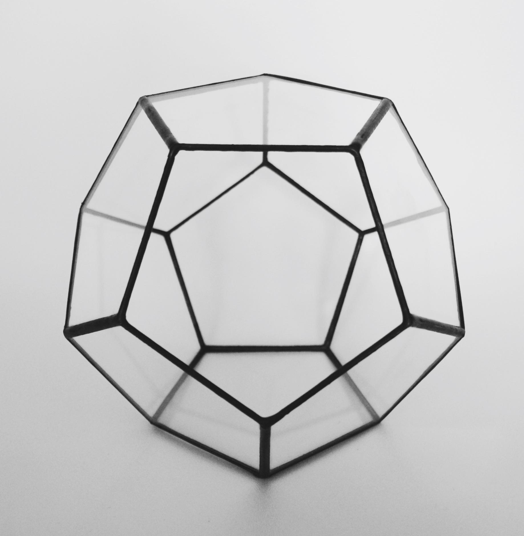 Dodecahedron Terrarium Minimalistos